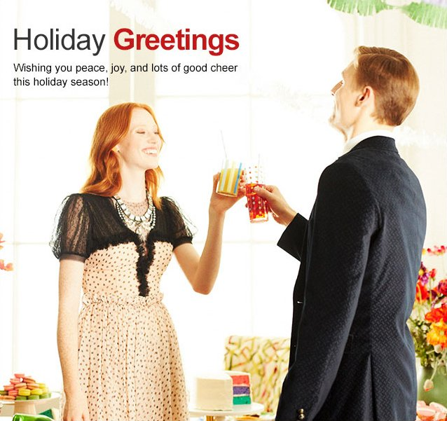 HOLIDAY GREETINGS FROM HUSH PUPPIES
