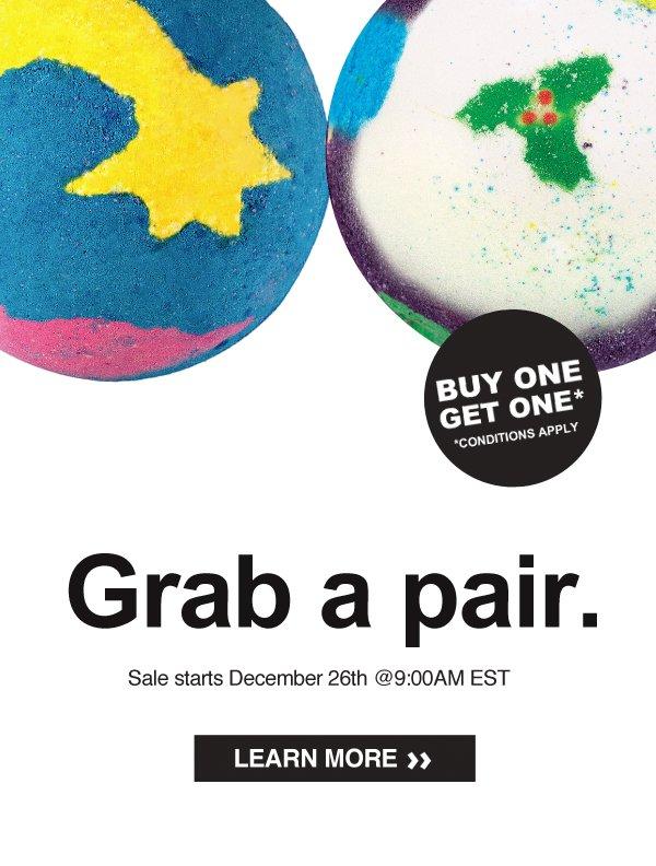 Grab a pair
