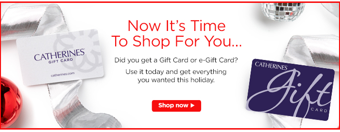 Redeem your gift card!