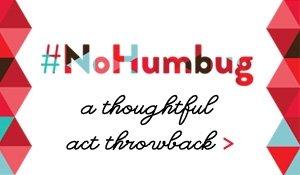 #nohumbug