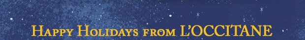 Happy Holidays from L'OCCITANE