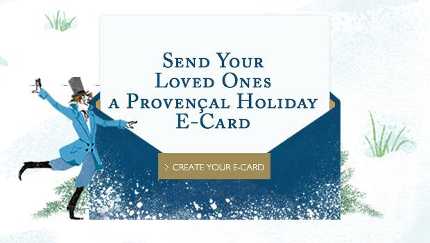 Send Your Loved Ones a Provencal Holiday Card