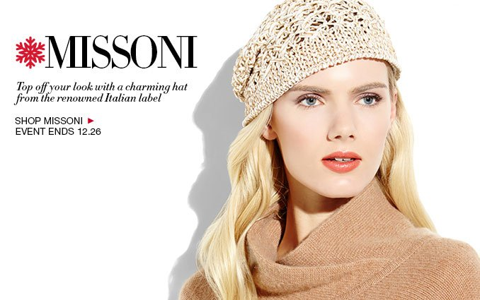 Missoni Accessories - Ladies