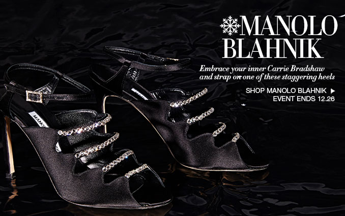 Shop Manolo Blahnik Shoes - Ladies