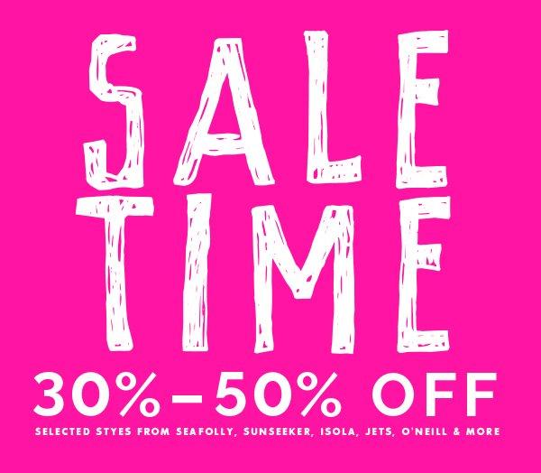 Sale Time.