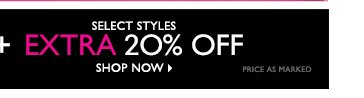 Plus additional 20% Off