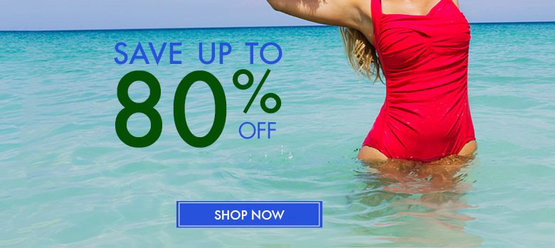 save up to 80% off - shop now
