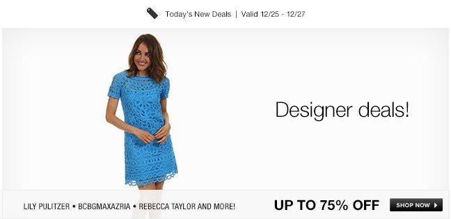 Designer deals!