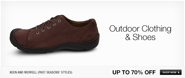 Outdoor Clothing and Shoes