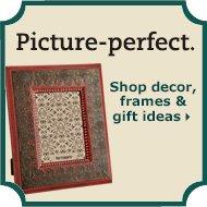 Shop decor, frames & gift ideas