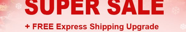 48-Hour ''After Christmas'' SUPER SALE + FREE Express Shipping Upgrade + Super Deep Discount Coupon