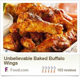 Unbelievable Baked Buffalo Wings