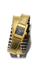 The Carrie Glitz Wrap Watch