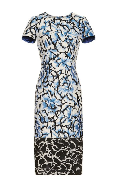 Floral Printed Sheath Dress