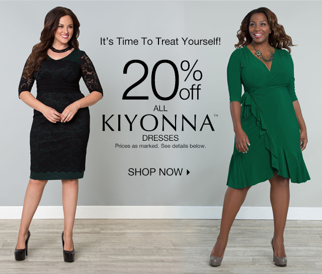 Treat Yourself With 20% off Kiyonna Dresses!