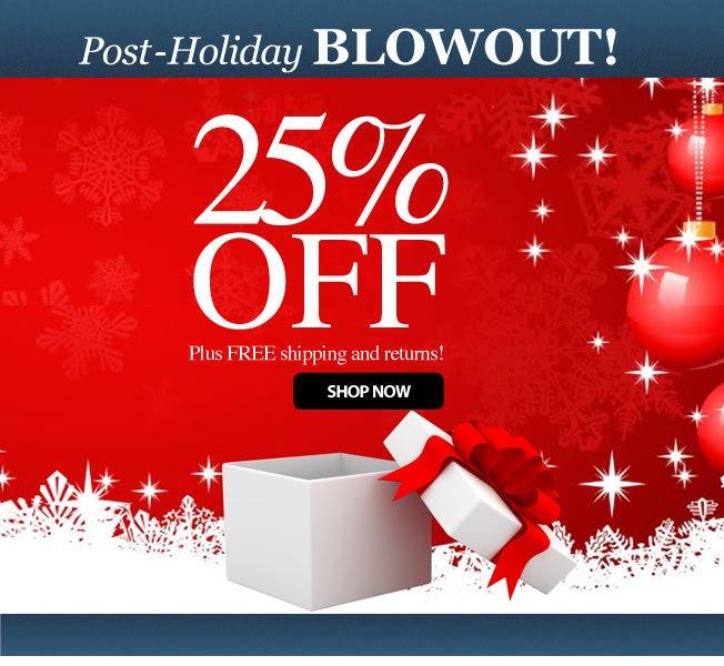 25% off!