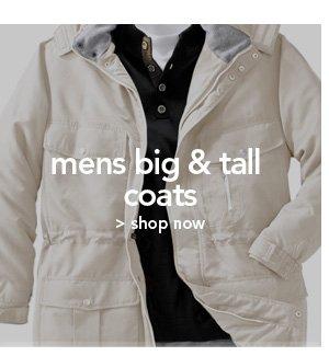 Shop Mens Big and Tall Coats
