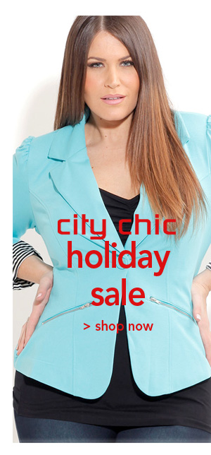 Shop City Chic Holiday Sale