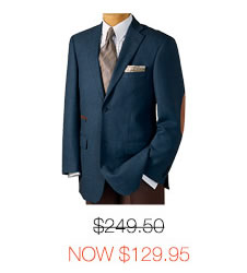 Wool Two-Button Sport Coat