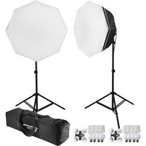Adorama - Westcott uLite 2-Light Octabox 200-watt Fluorescent Kit