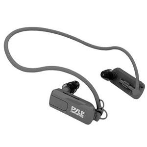 Adorama - Pyle PSWP4BK Waterproof Neckband MP3 Player and Headphones for Water Sports