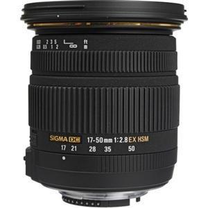 Adorama - Sigma 17-50mm f/2.8 EX DC OS HSM Auto Focus Lenses & Kits