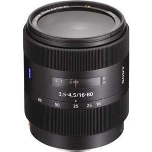 Adorama - Sony 16-80mm f/3.5-4.5 Vario-Sonnar T* DT a Mount Digital SLR 5x Zoom Lens & Bundle