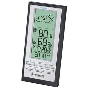 Adorama - Meade TE388W Personal Weather Station with Atomic Clock