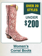 Womens Corral Boots Under $200