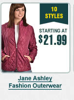 Jane Ashley Fashion Outerwear