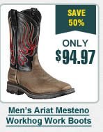 Mens Ariat Mesteno Workhog Work Boots