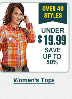 Womens Tops Under 20