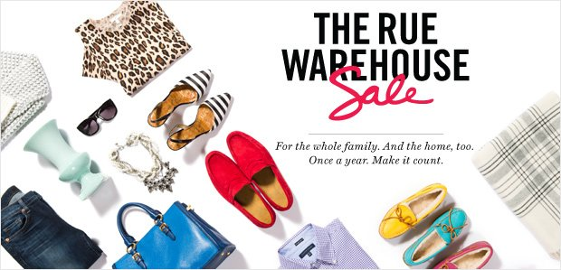 The Rue Warehouse Sale