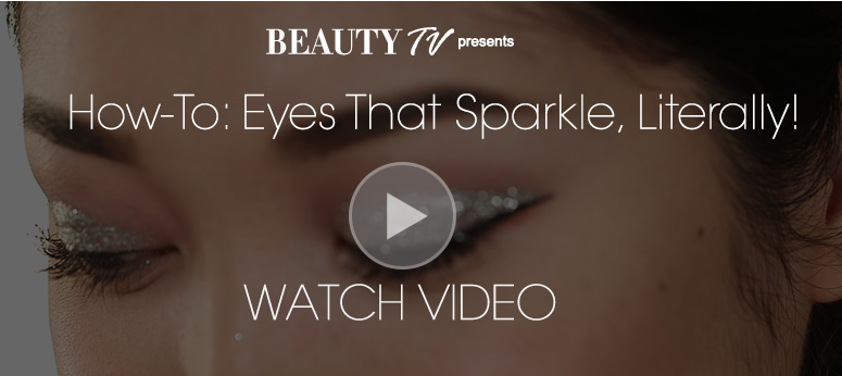 How-To: Eyes That Sparkle, Literally