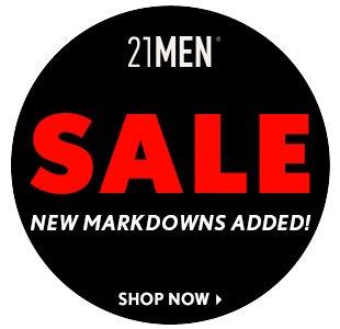 21MEN Sale