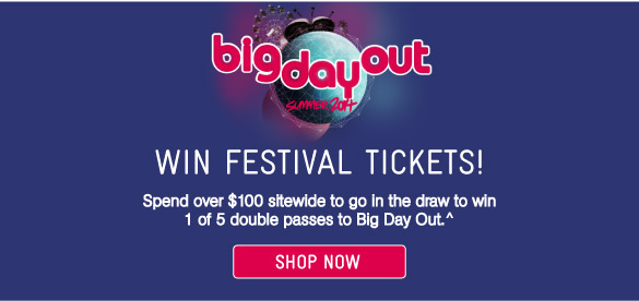 WinTickets To The Big Day Out
