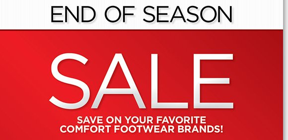 Save on your favorite comfort footwear brands! Find NEW markdowns on great styles from Dansko, UGG®, ABEO, ECCO and more during our End of Season Sale! Shop now for the best selection online and in stores at The Walking Company.