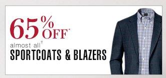 65% Off* Sportcoats & Blazers