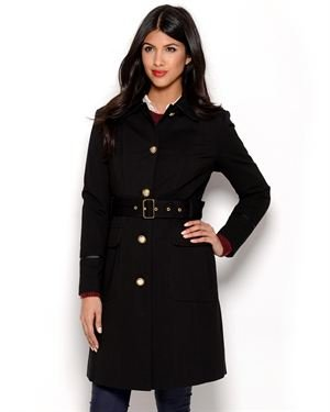 Vince Camuto Button-Up Coat