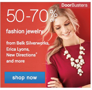50-70% off Jewelry. Shop now.