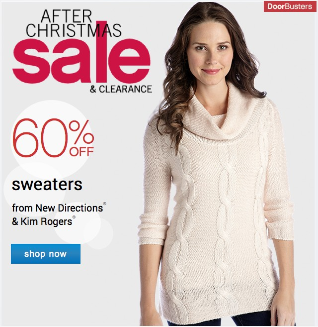 Belk: Save an Extra 15% During our After Christmas Sale-Happening ...