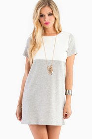 Izzy's Contrast Jersey Dress