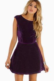 So Fancy Open Back Dress