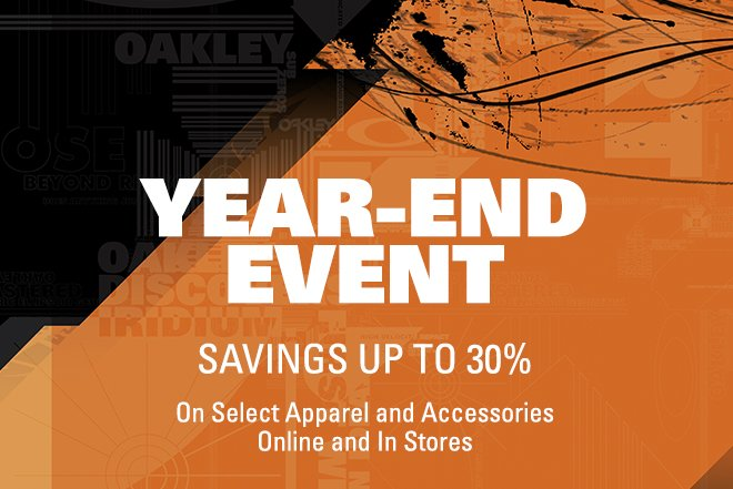 YEAR-END EVENT SAVINGS UP TO 30%