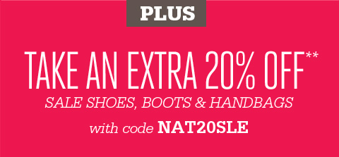 Plus extra 20% Off