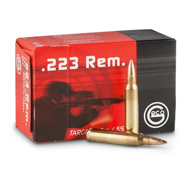 GECO® .223 55 Grain FMJ Ammo with Stripper Clips