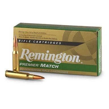 Remington® Premier® Gold Box™ .308 168 Grain BTHP Match Ammo