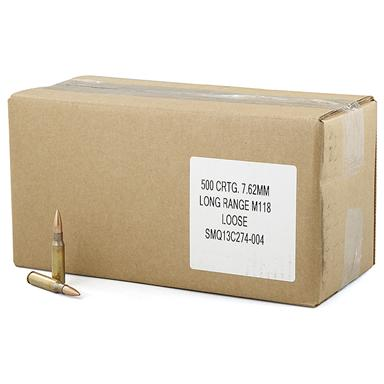 500 rds. .308 (7.62x51mm) 175 Grain Hollow Point Match Ammo