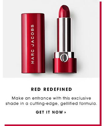 RED REDEFINED Make an entrance with this exclusive shade in a cutting-edge, gellified formula. GET IT NOW