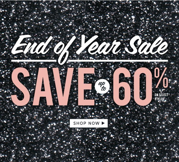 SALE - Save up to 60%: Shop Now